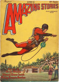 Pulps:Science Fiction, Amazing Stories V3#5 (Ziff-Davis, 1928) Condition: VG+....