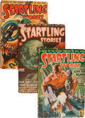 Pulps:Science Fiction, Startling Stories Box Lot (Standard, 1942-53) Condition: AverageVG+....