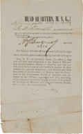 Miscellaneous:Ephemera, Confederate Oath of Allegiance from the State of Missouri....