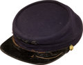 Militaria:Uniforms, Blue Kepi for the Boston School Cadets, c.1880....