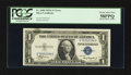 Error Notes:Ink Smears, Fr. 1608 $1 1935A Silver Certificates. Two Examples. PCGS ChoiceAbout New 58PPQ-Gem New 65PPQ.. ... (Total: 2 notes)