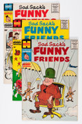 Golden Age (1938-1955):Cartoon Character, Sad Sack's Funny Friends File Copy Short Box Group (Harvey,1955-69)....