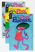 Bronze Age (1970-1979):Cartoon Character, Pink Panther File Copy Group (Gold Key, 1977-80) Condition: AverageVF+.... (Total: 23 Comic Books)