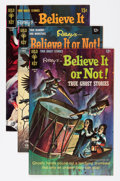 Silver Age (1956-1969):Horror, Ripley's Believe It Or Not File Copy Group (Gold Key, 1967-80)Condition: Average VF+.... (Total: 63 Comic Books)