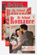 Golden Age (1938-1955):Romance, Hi-School Romance Plus File Copy Group (Harvey, 1949-58) Condition:Average VF.... (Total: 75 Comic Books)