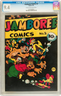 Golden Age (1938-1955):Funny Animal, Jamboree Comics #2 (Round, 1946) CGC NM 9.4 Cream to off-whitepages....