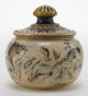 A MARTIN BROTHERS POTTERY JAR WITH COVER Martin Brothers, London, England, circa 1900 Marks: Martin Bros, London, Sout...