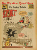 Golden Age (1938-1955):Superhero, The Spirit Large Tabloid Section dated 6/1/47 (Philadelphia Bulletin, 1947) Condition: VF-....