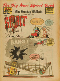The Spirit Large Tabloid Section dated 6/1/47 (Philadelphia Bulletin, 1947) Condition: VF-