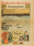 Golden Age (1938-1955):Superhero, The Spirit Large Tabloid Section dated 6/15/47 (Philadelphia Bulletin, 1947)....