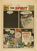 Golden Age (1938-1955):Superhero, The Spirit Large Tabloid Section dated 8/31/47 (Philadelphia Bulletin, 1947) Condition: VF....