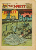 Golden Age (1938-1955):Superhero, The Spirit Large Tabloid Section dated 11/2/47 (Philadelphia Bulletin, 1947) Condition: FN....
