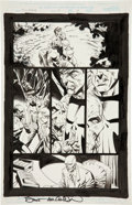 Original Comic Art:Panel Pages, Bernie Wrightson and Jimmy Palmiotti The Punisher #4 page 4 Original Art (Marvel, 1999)....