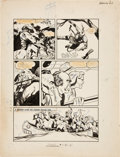 Original Comic Art:Panel Pages, Louis Zansky Classics Illustrated #22 The Pathfinder page 6 Original Art (Gilberton, 1944)...