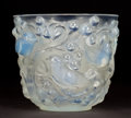 Art Glass:Lalique, R. LALIQUE OPALESCENT GLASS AVALLON VASE . Circa 1927.Stenciled: R. Lalique . 5-1/2 inches high (14.0 cm). ...