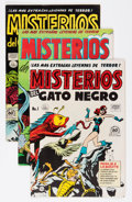 Golden Age (1938-1955):Horror, Misterios del Gato Negro File Copies Group (Harvey, 1950s)Condition: Average VF.... (Total: 16 Comic Books)