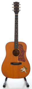 Musical Instruments:Acoustic Guitars, 1970's Gibson Gospel Natural Acoustic Guitar, Serial # 605154....