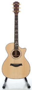 Musical Instruments:Acoustic Guitars, Taylor 912C Natural Acoustic Electric Guitar....