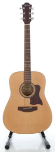 Musical Instruments:Acoustic Guitars, Hohner HW350 Natural Acoustic Guitar, Serial # 4124102271...
