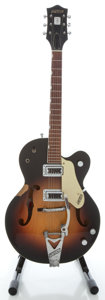 Musical Instruments:Acoustic Guitars, Gretsch Anniversary 6117 Sunburst Semi-Hollow Body Electric Guitar, Serial # 10024....