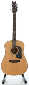 Musical Instruments:Acoustic Guitars, Circa 1990's Washburn D-13N Natural Acoustic Guitar, Serial # 9105053....