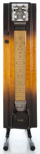 Musical Instruments:Lap Steel Guitars, 1950's Gibson Electraharp Sunburst Pedal Steel Guitar....