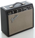 Musical Instruments:Amplifiers, PA, & Effects, 1967 Fender Champ Blackface Guitar Amplifier, Serial # A12585....