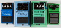 Effects Pedal Lot Boss and Ibanez