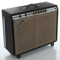 Musical Instruments:Amplifiers, PA, & Effects, 1970's Fender Pro Reverb Silverface Guitar Amplifier, Serial # A16868....
