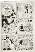 Original Comic Art:Panel Pages, John Buscema and Sal Buscema Fantastic Four #301 page 18 Original Art (Marvel, 1987)....