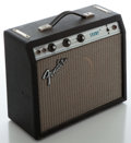 Musical Instruments:Amplifiers, PA, & Effects, 1970's Fender Champ Silverface Guitar Amplifier, Serial #A774104....
