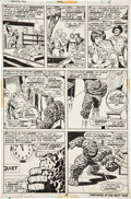Original Comic Art:Panel Pages, Rich Buckler and Joe Sinnott Fantastic Four #142 page 18 Original Art (Marvel, 1974)....