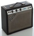 Musical Instruments:Amplifiers, PA, & Effects, Late 1970's Fender Champ Silverface Guitar Amplifier, Serial # F05E157....