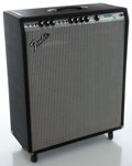 Musical Instruments:Amplifiers, PA, & Effects, 1970's Fender Bassman 10 Silverface Guitar Amplifier, Serial #A733335....