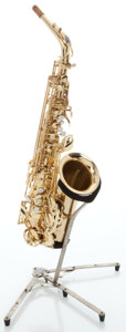 Musical Instruments:Horns & Wind Instruments, Circa 1990's Selmer Super Action 80 Series II Brass Alto Saxophone,Serial # 537902....