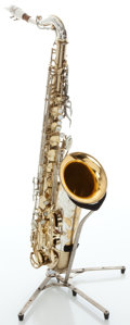 Musical Instruments:Horns & Wind Instruments, Circa mid 1960's King Super 20 Silver Sonic Tenor Saxophone, Serial # 408718....
