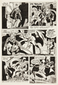 Steve Ditko Ghostly Haunts #46 page 5 Original Art (Charlton, 1975)