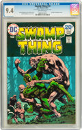 Bronze Age (1970-1979):Horror, Swamp Thing #10 (DC, 1974) CGC NM 9.4 Off-white pages....