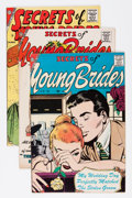 Silver Age (1956-1969):Romance, Secrets of Young Brides Group (Charlton, 1957-64) Condition:Average FN/VF.... (Total: 11 Comic Books)