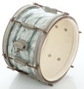 Musical Instruments:Drums & Percussion, 1960's Ludwig Gray Oyster Pearl Single Tom, Serial # 178860....
