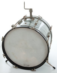 "1960's Ludwig Gray Oyster Pearl 20"" Kick Drum , Serial # 177023"