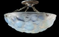 Art Glass:Lalique, R. LALIQUE OPALESCENT GLASS LAUSANNE CHANDELIER PLAFFONIER . Circa 1929. Molded: R. LALIQUE, FRANCE . 10-3/4 x 1...