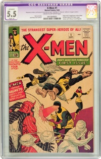X-Men #1 (Marvel, 1963) CGC Apparent FN- 5.5 Slight (A) Cream to off-white pages