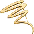 Estate Jewelry:Brooches - Pins, Gold Brooch, Paloma Picasso, Tiffany & Co.. ...
