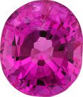 Estate Jewelry:Unmounted Gemstones, Unmounted Pink Sapphire. ...