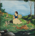 Animation Art:Production Cel, Snow White and the Seven Dwarfs Production Cel Set-Up Animation Art (Disney, 1937)....
