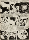 "Original Comic Art:Panel Pages, Joe Shuster Studio Unpublished Superman Story ""Supermite"" Page 2Original Art (c. 1944)...."