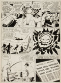 "Original Comic Art:Panel Pages, Joe Shuster Studio Unpublished Superman Story ""Supermite"" LexLuthor Page 4 Original Art (c. 1944)...."