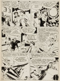 "Original Comic Art:Panel Pages, Joe Shuster Studio Unpublished Superman Story ""Supermite"" ClarkKent, Lois Lane, and Superman page 5 Original Art (c. 1944)...."