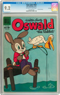 Silver Age (1956-1969):Cartoon Character, Four Color #979 Oswald the Rabbit - File Copy (Dell, 1959) CGC NM- 9.2 Off-white to white pages....